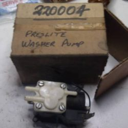 Prestolite Washer Pump