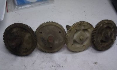 Wiper gears assorted